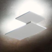 Puzzle Square and Rectangle Wall / Ceiling Flush Light