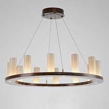 Carlyle 12 Light Corona Ring Chandelier