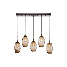 Ellisse Linear Multi Light Pendant