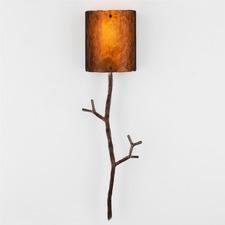 Ironwood Twig Wall Light