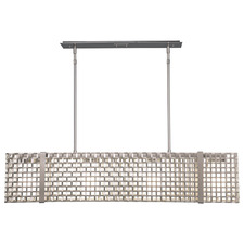 Tweed Linear Chandelier