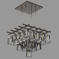 Monceau Square Chandelier