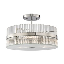 Nescott Semi Flush Ceiling Light