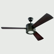 Triad Ceiling Fan with Light