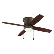 Laval Hugger Ceiling Fan with Light