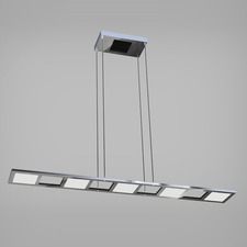 Quadra Up/Down Light Linear Suspension