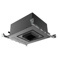 4 IN Square Flangeless Fixed 18Deg IC Airtight Housing 90CRI
