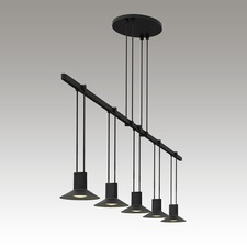 Suspenders 1 Tier Linear Pendant