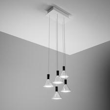 Polair Rectangle Canopy Multi Light Pendant