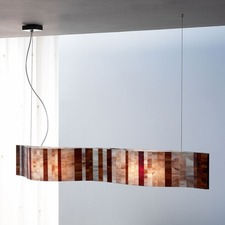Vento 38 inch LED Linear Pendant