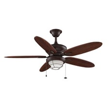 Kaya Ceiling Fan with Light