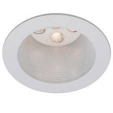 LEDme 4 inch Open Reflector Step Baffle Downlight Trim