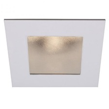LEDme 4 inch Square Recessed Shower Trim