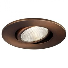 R400 4 inch Gimbal Ring Adjustable Downlight Trim