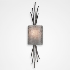 Ironwood Thistle Wall Light