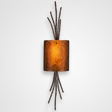 Ironwood Thistle Wall Light