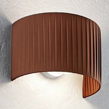 Fog Plisse Wall Light