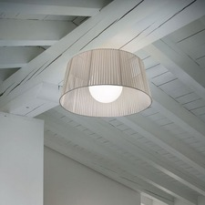 Ribbon Ceiling Light Fixture