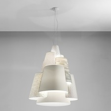 Melting Pot Large Multi Shade Pendant