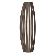 Slatted Barrel Wall Light