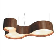 Organic Semi Cylindrical Wall / Ceiling Light