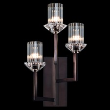 Neuilly 3 Light Left Facing Wall Light