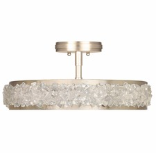 Arctic Halo Semi Flush Ceiling Light