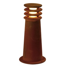 Rusty Tapered LED Outdoor Bollard