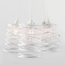 Spiral Nest Cluster Pendant