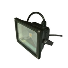 High Power Outdoor 10W LED Flood Light - Black