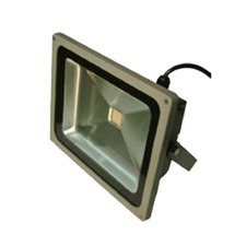 High Power Outdoor 55W LED Flood Light - Silver