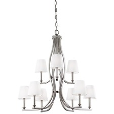 Pave Two Tier Chandelier