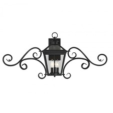 Ellijay Outdoor Scroll Wall Light