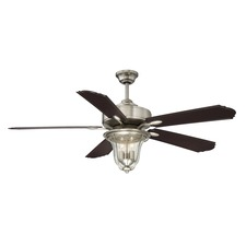 Trudy Indoor / Outdoor Ceiling Fan with Light