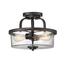 Tulsa Ceiling Semi Flush Light
