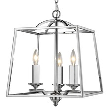 Athena Chrome Chandelier