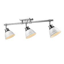 Duncan 3 Light Semi Flush Ceiling Light