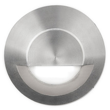 2 inch In Ground Round Step and Wall Light