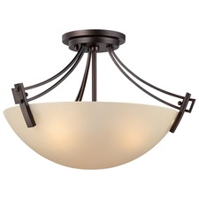 Wright Ceiling Semi Flush Light