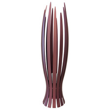Slatted Flame Floor Lamp