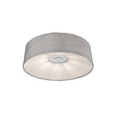 Linen Ceiling Light Fixture