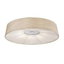 Linen Ceiling Light Fixture