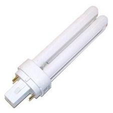 T4 G23-2 Base 2-Pin Quad 9W CFL 2700K 120V