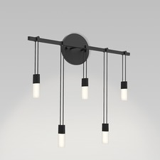 Suspenders Staggered Bar Wall Light