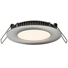 Designer Series Round LED Recessed Panel Light