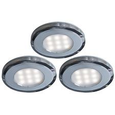 4007 Round Slim Puck Light Kit
