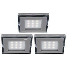 4008 Square Slim Puck Light Kit