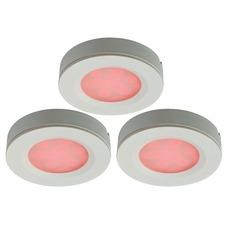 LED RGB Puck Light 3 Light Kit