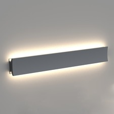Lineacurve B Wall/Ceiling Light 80CRI 0-10V Dim Anthracite
