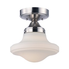 New School Ceiling Semi Flush Light